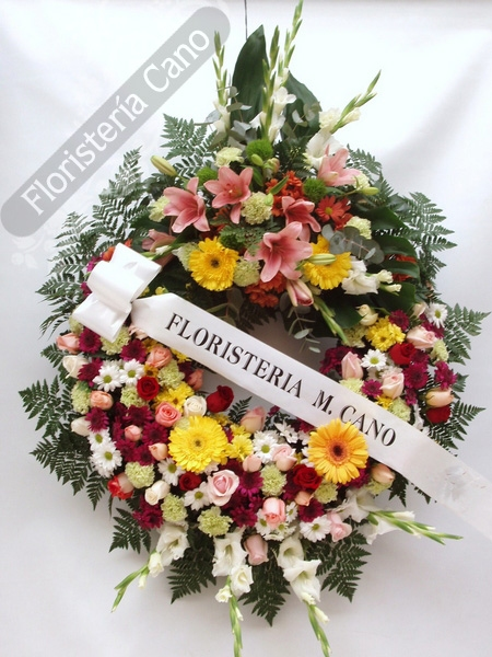 Coronas De Flores 90floristeria Canocentros De Flores 60