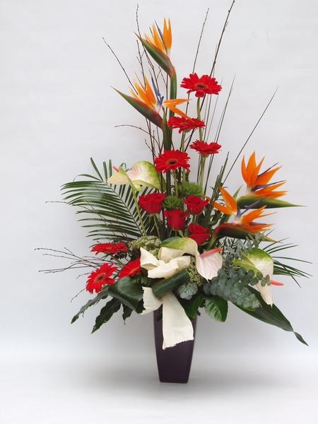 Jarrón de flores para nacimiento - Comprar en Floristería Online de ...