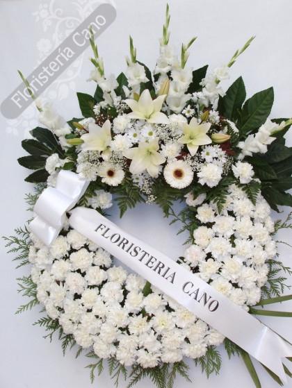 Corona de flores comprar en florister a online de venta - Coronitas de flores ...